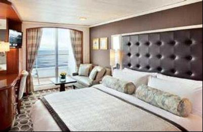 Category AA Deluxe Stateroom with Verandah AA