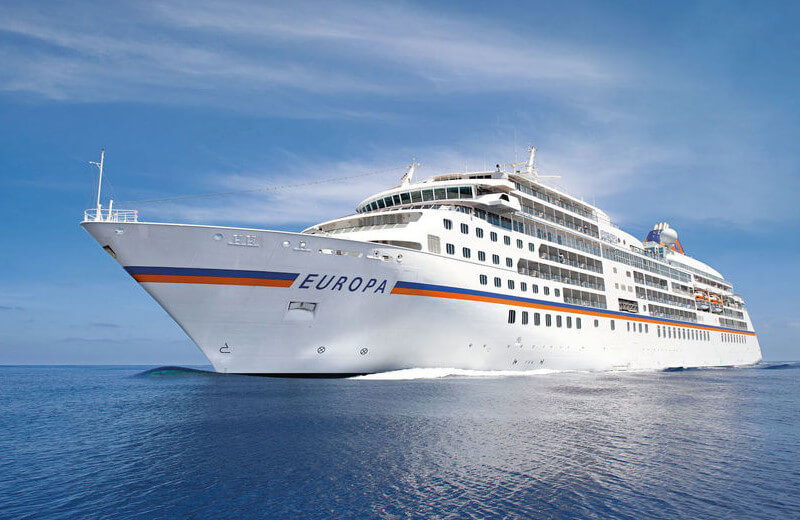 Ms Europa Position