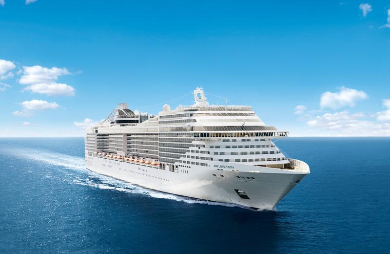MSC Splendida - Kreuzfahrten auf der MSC Splendida 2020/21