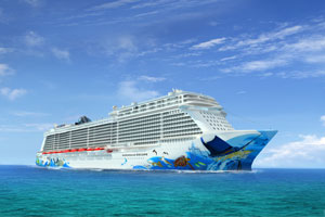 Bugbemalung Norwegian Escape