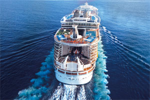 Oasis of the Seas auf hoher See