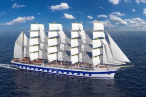 Segelschiff Flying Clipper